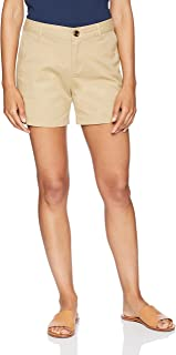 khaki short shorts for juniors