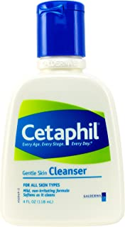 Cetaphil Gentle Skin Cleanser Bottles, 4 Fluid Ounce