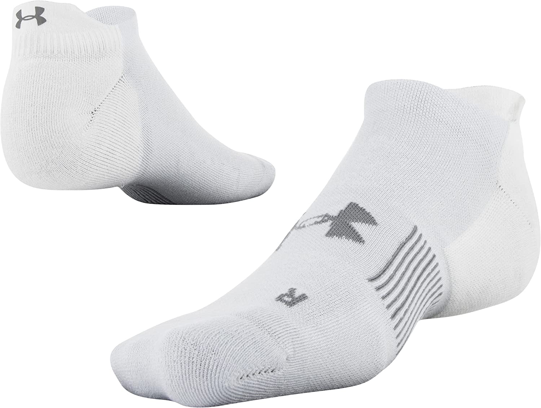 Under Armour womens Armour Dry Run No Show Tab Socks, 1-pair
