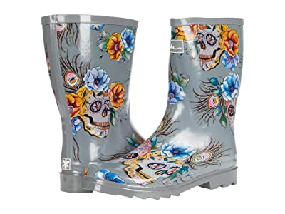 Anuschka Mid Calf Rain Boot Women