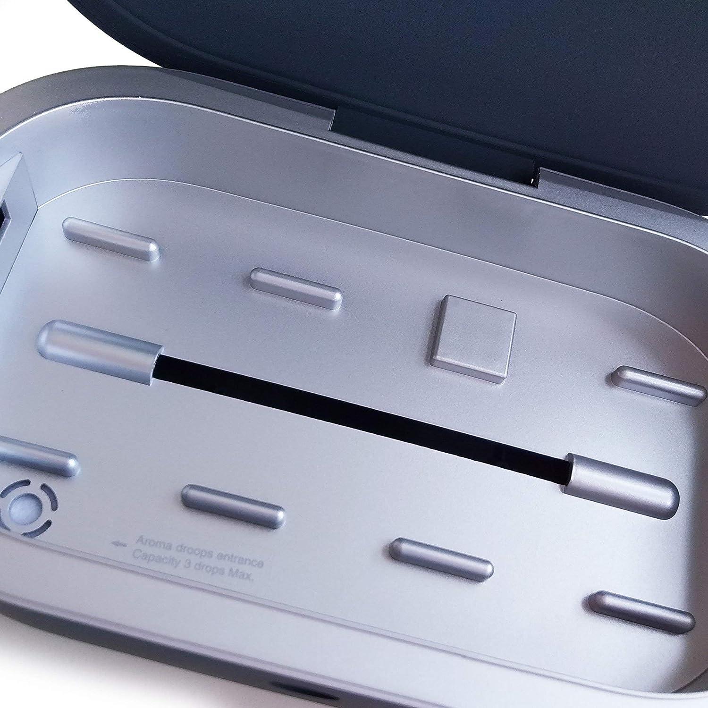 Grigio Piquadro Re Start Sterilizzatore UVC con ricarica wireless AC5466RS