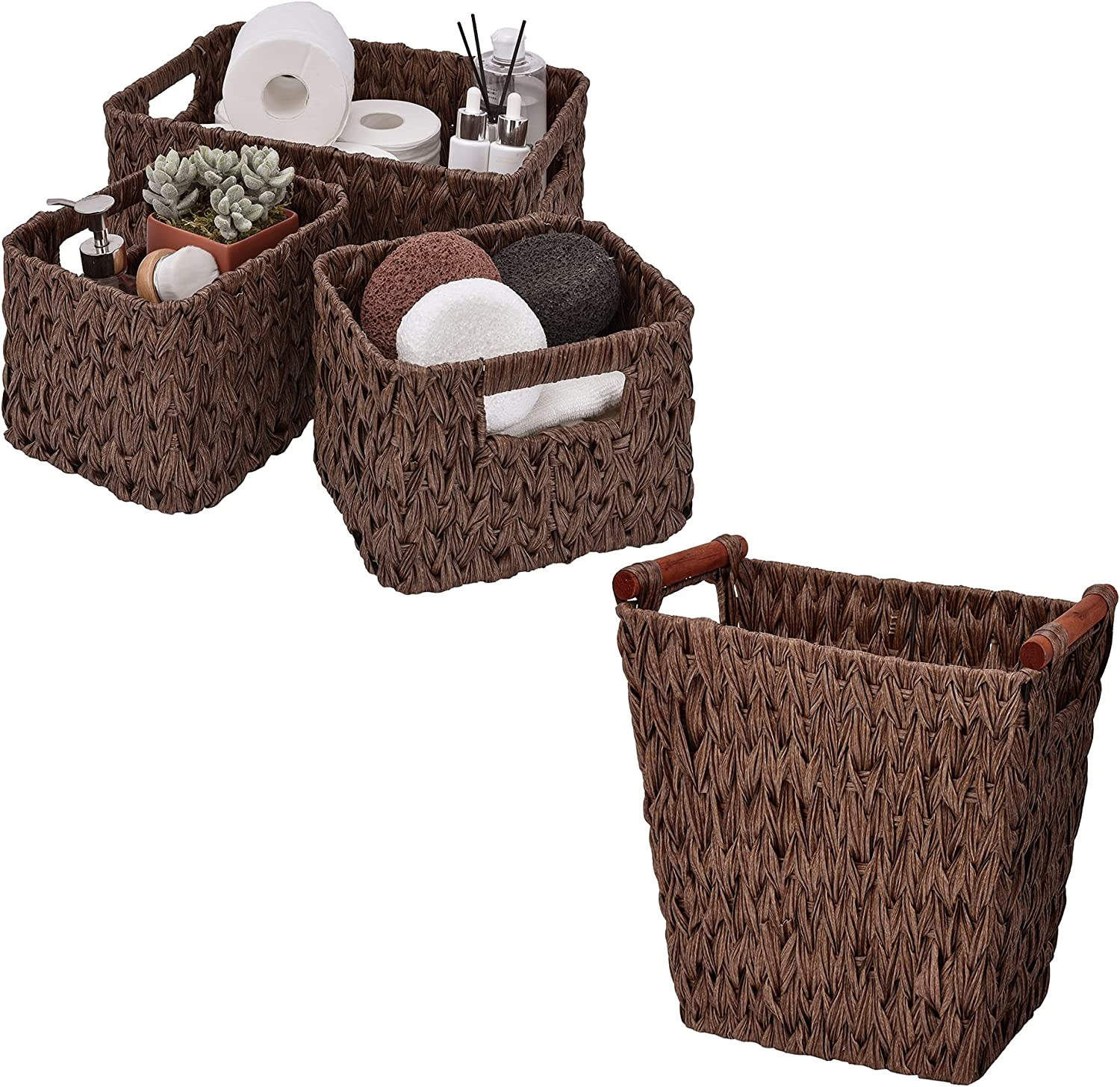 GRANNY SAYS Bundle of 3-Pack Wicker 1-Pack Max 82% OFF Beauty products Baskets Bath