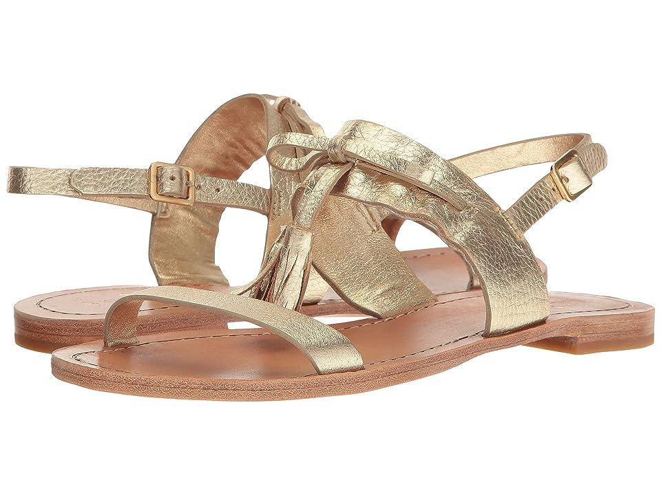 Kate Spade New York Carlita (Gold Metallic Tumbled Leather) Women