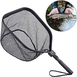 ODDSPRO Fly Fishing Landing Net, Bass Trout Net, Catch...