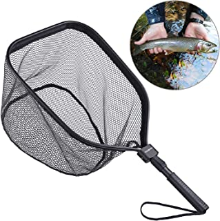 ODDSPRO Fly Fishing Landing Net, Bass Trout Net, Catch...