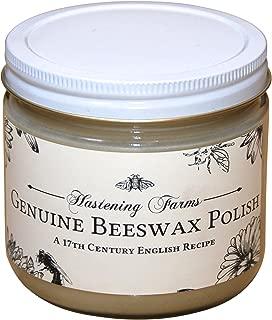 Hastening All Natural Beeswax Furniture Polish (12oz)