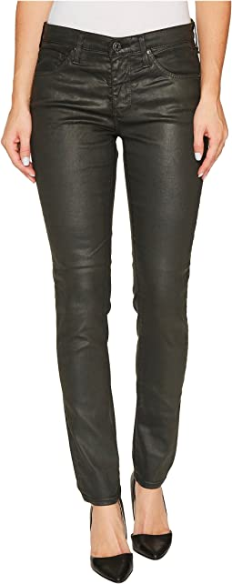 AG Adriano Goldschmied - The Legging Ankle in Vintage Leatherette LT Climbing Ivy