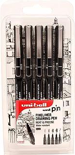 2 Gratis uni-ball Fineliner PIN ASP006 6er Set