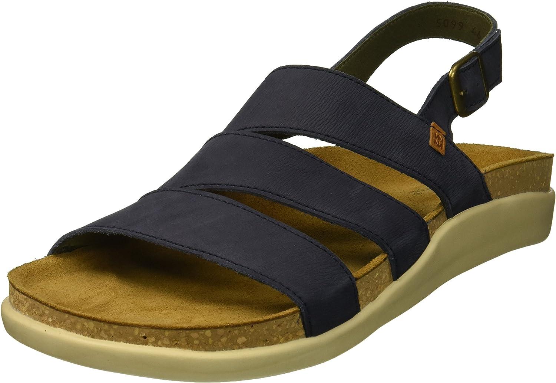 El Naturalista Mens N5099 Pleasant Ocean Koi Flat Sandal