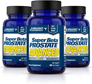 Super Beta Prostate Advanced Prostate Supplement for Men – Reduce Bathroom Trips, Promote Sleep, Support Urinary Health & ...