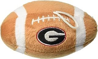 Sporty K9 Collegiate Georgia Bulldogs Plush Football Pet Toy, 5-Inch