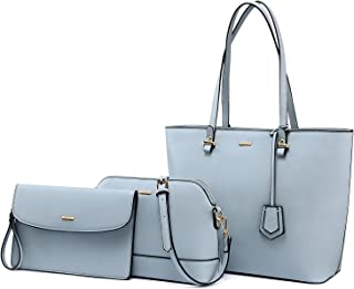 Purses and Handbags Designer Handbags for Women Tote + Crossbody + Envelope  3 Purses Set d6c02f8ea80db
