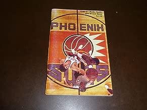 1980 1981 PHOENIX SUNS NBA BASKETBALL MEDIA GUIDE ALVAN ADAMS COVER EX-MINT