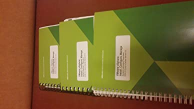 VMware vSphere: Install, Configure, Manage Student Manual ESXi 5.0 and vCenter Server 5.0