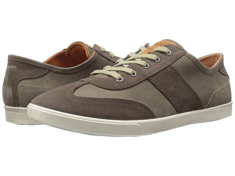 ECCO Collin Retro Sneaker (Dark Clay/Tarmac) Men