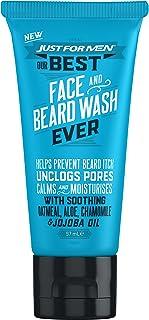 Just para hombre barba cara lavar