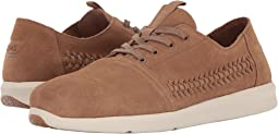 Toffee Woven Suede