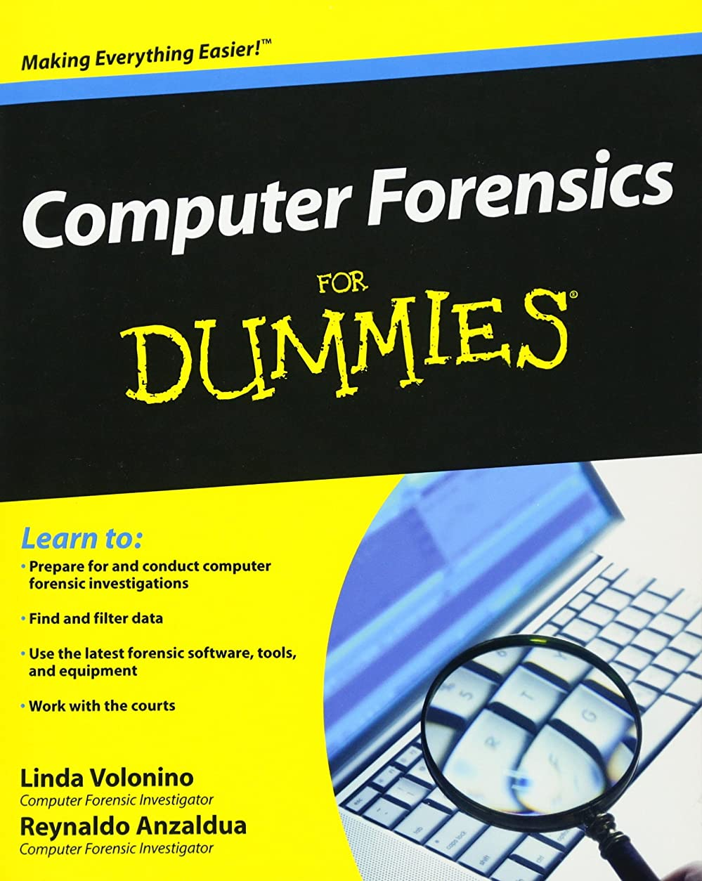 キロメートル身元彫刻家Computer Forensics For Dummies (For Dummies Series)