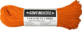 Army Universe Nylon Military Paracord 550 lbs Type III 7 Strand Utility Cord Rope USA Made