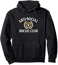 Anti-Social - Social Club - Vintage Retro Pullover Hoodie