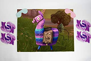 Pin the Tail on the Loot Llama Party Game   Video Game Party Supplies   Video Game Party Favors   Loot Llama Party Supplies   Video Game Party Decorations   Large 21