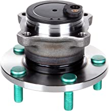 OCPTY New Wheel Hub Bearings Rear 5 Lugs w/ABS Compatible for Mazda 3 I Mazda 5 GS 2004-2009 with OE 513307 (Pack of 1)
