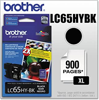 Brother LC65HYBK Innobella High-Yield Ink Cartridge, Black - in Retail Packaging
