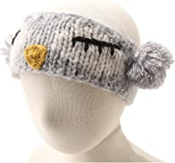KNK3246 Sleeping Owl Pom Headband Hat (Little Kids)