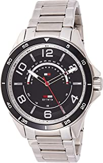 Tommy Hilfiger Womens Quartz Watch, Analog Display and Stainless Steel Strap 1791394