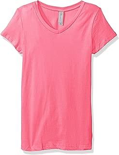 Apparel Girls Tween Short Sleeve V Neck T-Shirt SoftComfort Tee Shirt