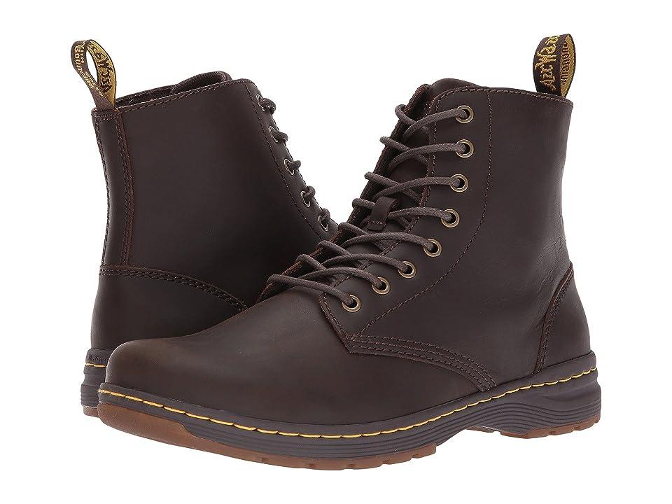 Dr. Martens Monty 8-Eye Boot (Dark Brown Republic) Men