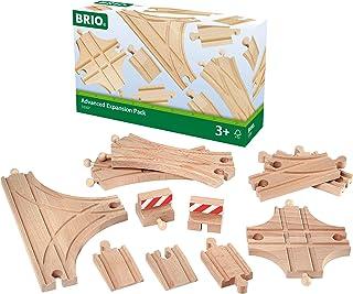 BRIO 63330700 Duży Zestaw Torów (63330700) Bezpieczna Zabawka Dla Dzieci Powyżej 3 Lat