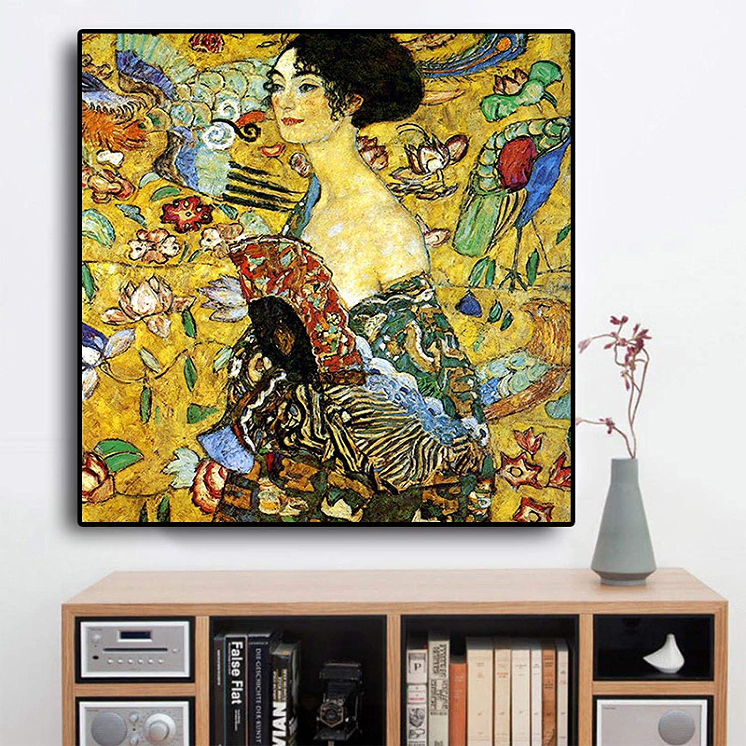 Signora By Gustav Klimt Opening large release sale Reproduction Max 84% OFF Canvas Painting on Scandina