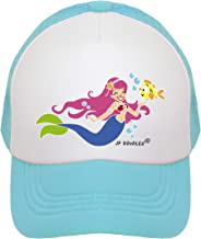 JP DOoDLES Mermaid on Kids Trucker Hat. Kids Baseball Cap is Available in Baby, Toddler, and Youth Sizes.