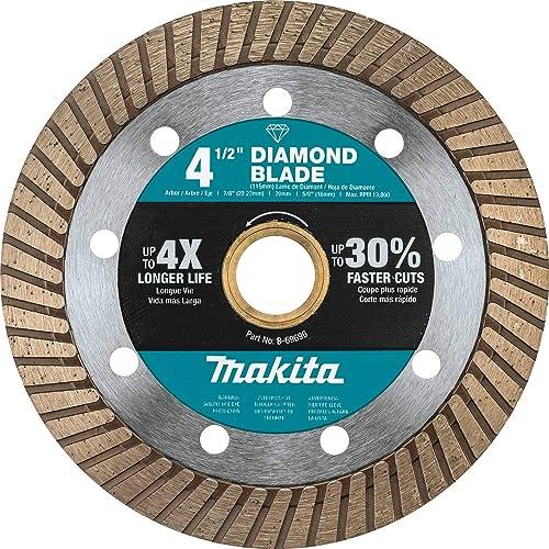 """Makita B-69696 4-1/2"""" Diamond Blade, Turbo, General Purpose"""