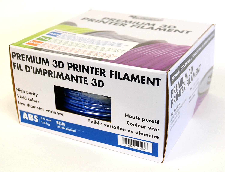 MG Chemicals Brown ABS 3D Printer Filament, 2.85 mm, 1 kg Spool