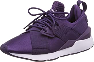 PUMA Women's Muse Satin Ep WN's Low-Top Sneakers, Blue (Indigo-Indigo 11), 5 UK
