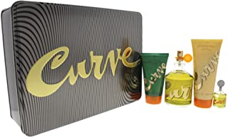Liz Claiborne Curve 4 Piece Gift Set for Men