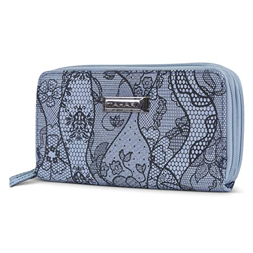 276204fb65 Tahari Double Date Zip Around Womens RFID Clutch Wallet Organizer