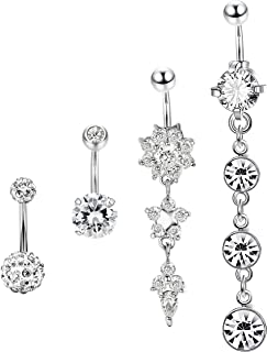 Best cute belly button piercing rings Reviews
