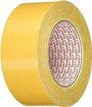3M Dubbelzijdig plakband 9191 in wit 50 mm x 25 m – legtape voor het lijmen van verschillende materialen en textiel – verp...