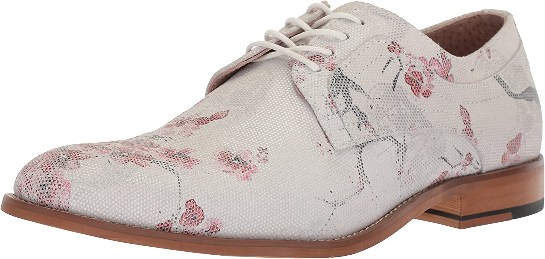 Stacy Adams Herren Plain Toe Print Dandy einfache Spitze, Aufdruck, Oxford, Multi, 41 EU