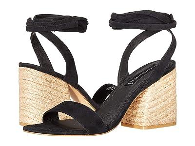 STEVEN NEW YORK Yasi (Black Suede) High Heels