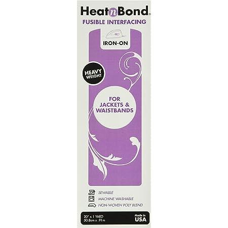 White 20x36 Thermoweb Heatn Bond Heavy Weight Iron Interfacing fusible 4