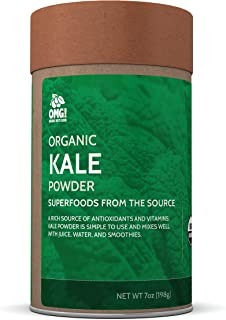 OMG! Superfoods Organic Kale Powder – 100% Pure, USDA Certified Organic Kale Powder - 7 oz