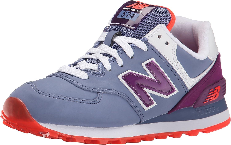 Amazon.com | New Balance Women's WL574 Glacial Pack Running Shoe ...