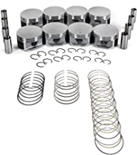 CNS Brand New Engine PISTONS W/RINGS Set WORKS WITH 99-07 CHRYSLER/DODGE/JEEP/MITSUBISHI 4.7L (4703cc/287cid) SOHC V8 16V,
