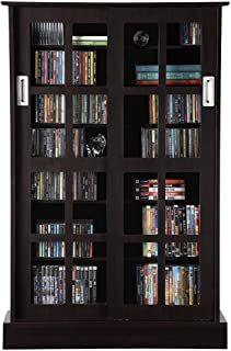 sliding glass door media cabinet