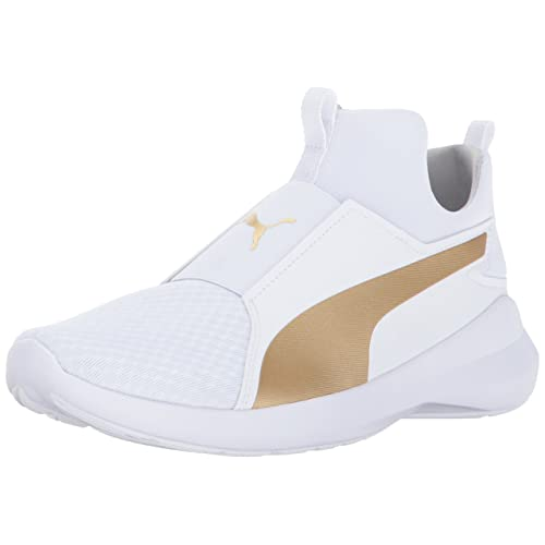 4631376271 White and Gold Pumas: Amazon.com