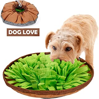 CPOPBOY Snuffle Mat,Dog Snuffle Mat,Nosework for Dogs Large Small Pet Treat Interactive Puzzle Dispenser Toys